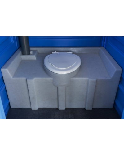 """Мобильная туалетная кабина """"Стандарт ЭС+"""""""