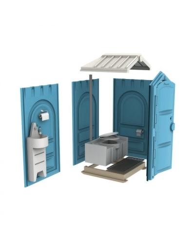 """Пластиковая туалетная кабина """"Стандарт Ecorg"""""""