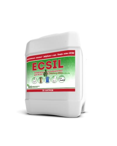 Универсальная жидкость для биотуалета ECSIL 10 литров