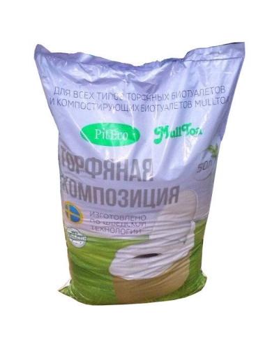 Торфяной наполнитель для биотуалета 50 литров