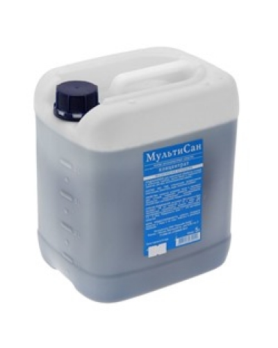 Жидкость для биотуалета МультиСан 10 литров Летняя