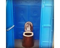 Туалетная кабина на яму