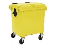 Пластиковый контейнер для мусора на 660 литров
